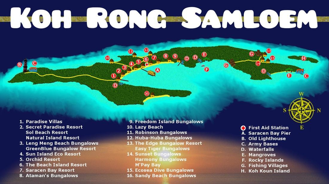 Easy Tiger World Map.  such as Saracen bay Mpay Lazy beach and Sunset etc there are many special place where you can find more detail with below map picture 5ce0af0d ef93 4e2f bfd2 1d2d38e36c81x1200 jpg